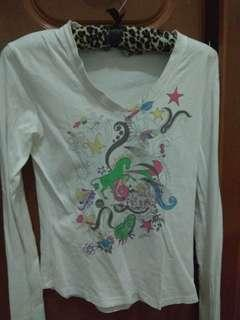 Embroidery long sleeve