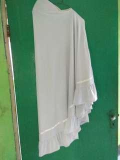 Jilbab Instan putih