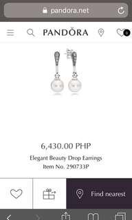 808224c15 pandora earrings | Jewelry | Carousell Philippines