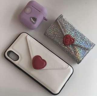 iPhone X/Xs cardholder case 全新