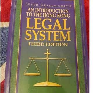 An Introduction to the Hong Kong Legal System 3rd Edition Book