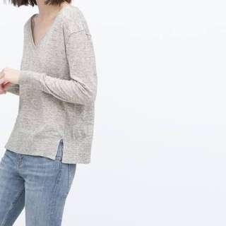 Zara Knit - Grey Lightweight Sweater