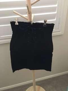 Bardot high waisted skirt size 14
