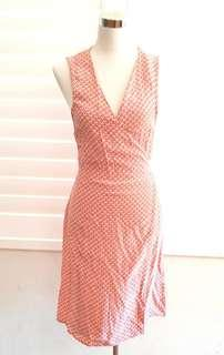 Oxford Wrap Dress