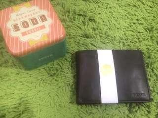 Brand New FOSSIL Bifold Leather Wallet for Men