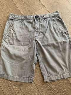 Chino shorts grey blue