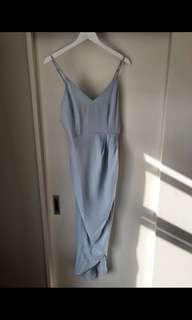 Lucky Day Dress in Blue Ball Dress