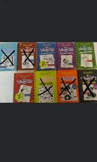 🚚 Pre-loved Diary of A Wimpy Kid books