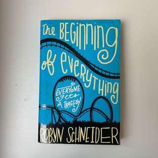 🚚 The Beginning of Everything by Robyn Schneider