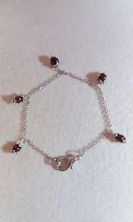 Freshwater pearl linked bracelet淡水珍珠手鏈