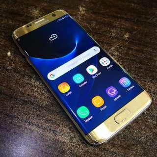 Samsung Galaxy S7 Edge SEIN Dual SIM Fullset RAM 4/32GB