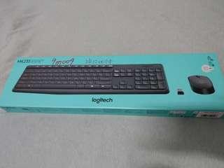 羅技無線鍵盤滑鼠 MK235