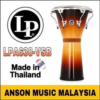"Latin Percussion LPA630-VSB 12-1/2"" Aspire Tunable Djembe, Vintage Sunburst"