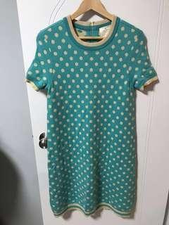 Kate Spade polka dots knitted dress