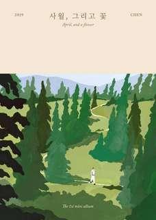CHEN - April, and a flower (1st Mini Album)