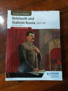 Bolshevik and Stalinist Russia 1917-64 (Fifth Edition) by Hodder Education