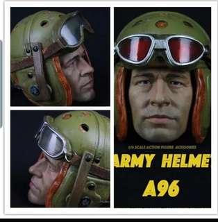 1/6 scale helmet only