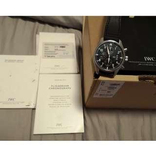 IWC Pilot Chronograph Black 43mm IWC 377701