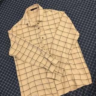 Roomee 格紋襯衫