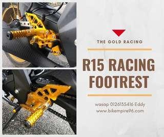 Yamaha r15 racing footrest