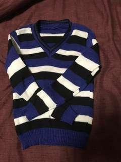 Blue stripped shirt (negotiable)