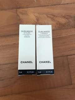 Chanel Sublimage L'Essence and Le Fluide