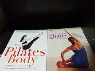 🚚 Pilates Body book collection (2 books)