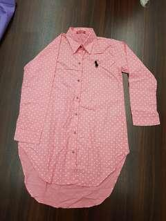 🚚 Cotton Pink Polka dot
