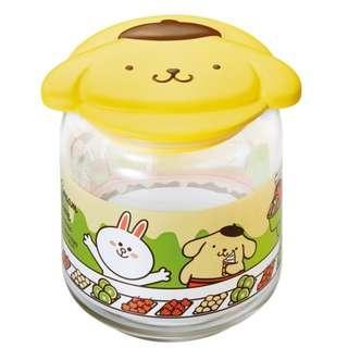 7-11 x LINE FRIENDS x Sanrio「樽樽滿JOY玻璃樽」 POMPOMPURIN雪糕玻璃樽