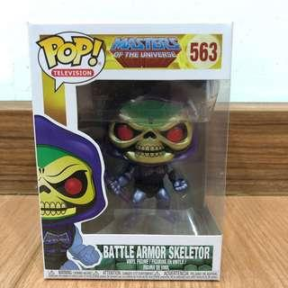 Funko Pop Metallic Battle Armor Skeletor