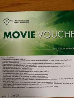 Shaw Movie Voucher
