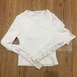 Top Shop White Crop Top