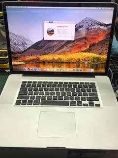 17-inch i7 MacBook Pro 2011