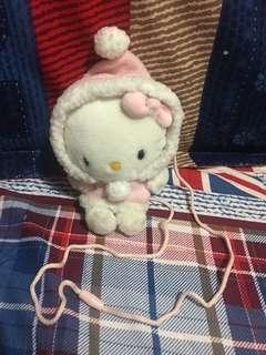 Hello Kitty 公仔斜孭袋