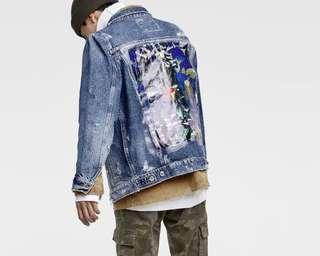 🆕Denim Jacket with printed