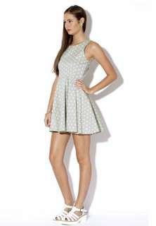 Jorge retro polka dot dress size 10