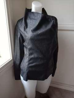 size 10: Leather Jacket