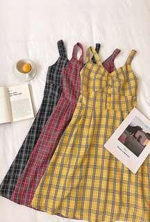 🚚 [PO] Checkered Summer Dress
