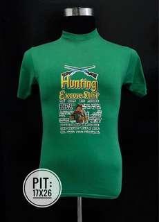Vintage 70's hunting 5050 iron on usa