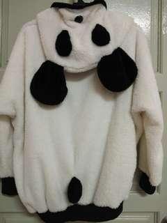 Fluffy Panda Sweater