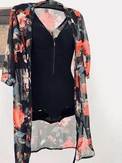 Lingerie bodysuit black
