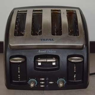 Tefal Avanti Deluxe Four Slice Toaster