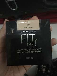 Maybelline Fit Me Loose Powder light