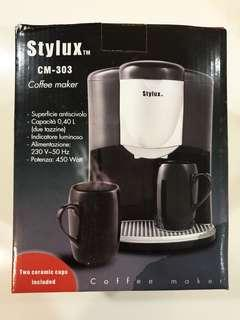 🚚 Stylux Coffee Maker CM-303 (New)