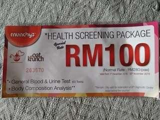 #STB50 BP healthcare Health Screening Package Special Rate RM 100