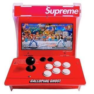 全新貨!Galloping Ghost × Supreme 雙人街機遊戲機 (一共1399個遊戲) 月光寶盒6S 潘多拉盒 game