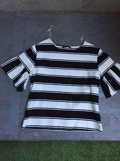 Mark and Spencer - tops stripe (fit)