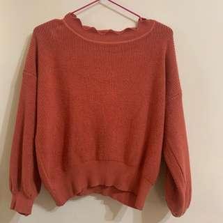 🚚 Weaver花瓣針織毛衣