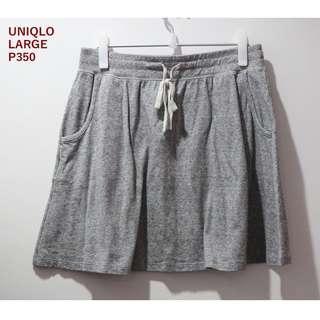 Uniqlo Gray Skirt