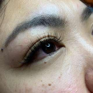Classic Eyelash Extensions **Unlimited Strands**